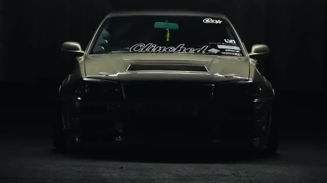 Watch -Solid Production- Nissan Skyline R34 Sedan (Wide and Stanced) GIF on Gfycat. Discover more nissan skyline (automobile model), r34, skyline GIFs on Gfycat