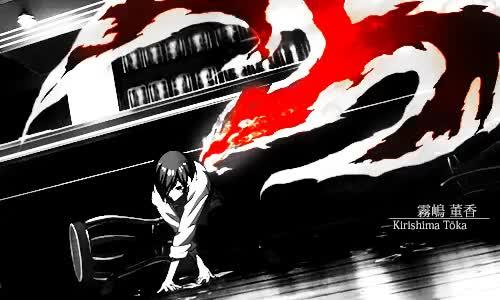 Watch and share Kirishima Ayato GIFs and Touka Kirishima GIFs on Gfycat