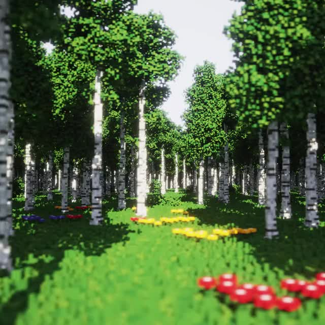 Watch and share Forest GIFs and Voxel GIFs by ultek on Gfycat