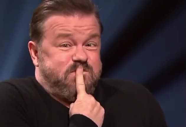Watch and share Ricky Gervais GIFs by Reactions on Gfycat