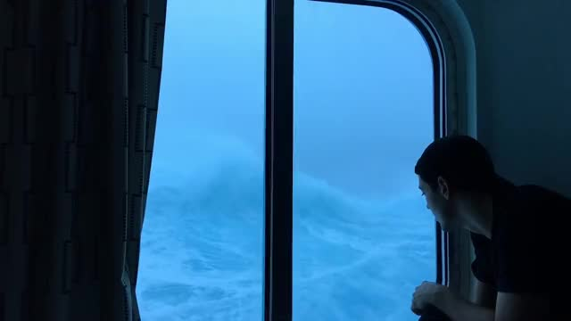 Watch and share Anthem Of The Seas Vs Huge Waves And 120 Mph Winds. Viewed From My Room On The Third Floor! GIFs on Gfycat