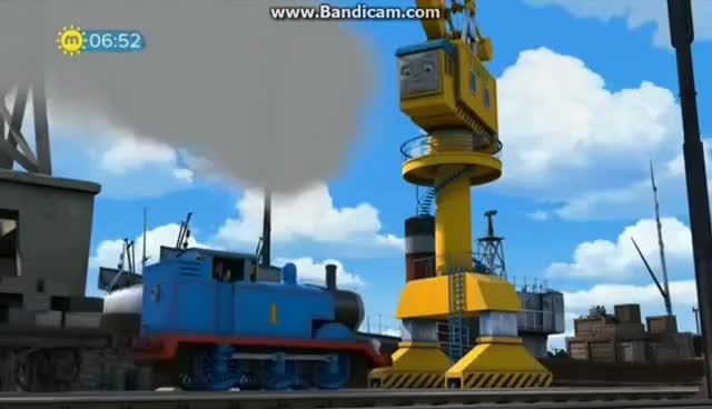 Watch and share New Crane On The Dock - Thomas & Friends: Season 21, Ep 9 [UK] GIFs on Gfycat