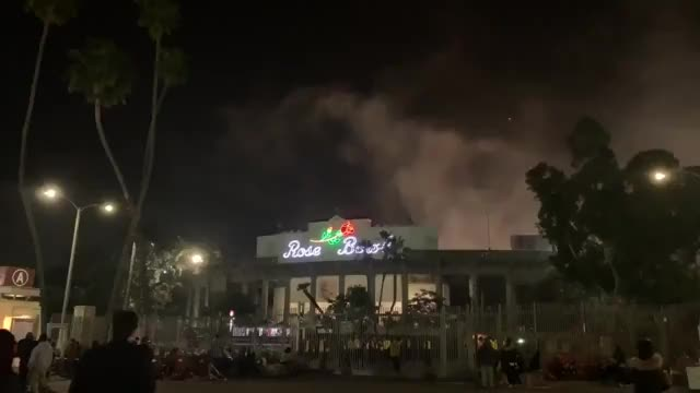 Watch and share Fireworks Outside RoseBowl GIFs by sweet-tae on Gfycat