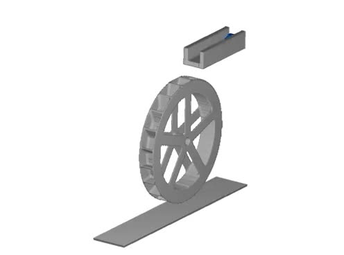 Watch and share Water Wheel CFD Simulation GIFs on Gfycat