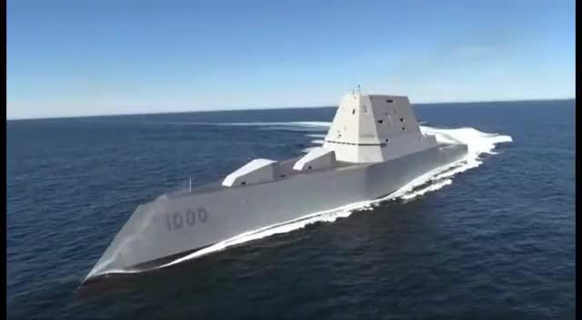 Watch and share Zumwalt At Sea GIFs on Gfycat