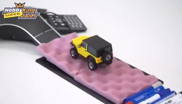 Watch HobbyKing Super Daily - Orlandoo OH35A01 4WD 1/35 Crawler Kit GIF on Gfycat. Discover more related GIFs on Gfycat