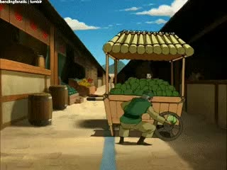 Watch and share Cabbage Merchant GIFs and Katara GIFs on Gfycat