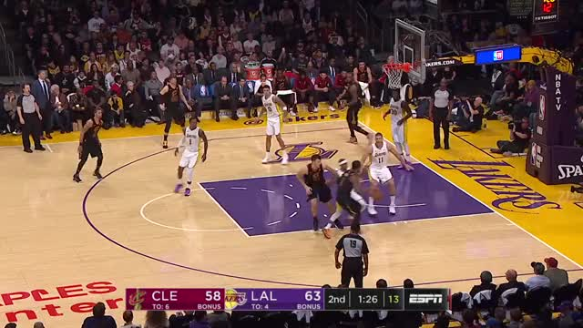 Watch and share Cavaliers Vs Lakers GIFs and Nba Highlights GIFs on Gfycat