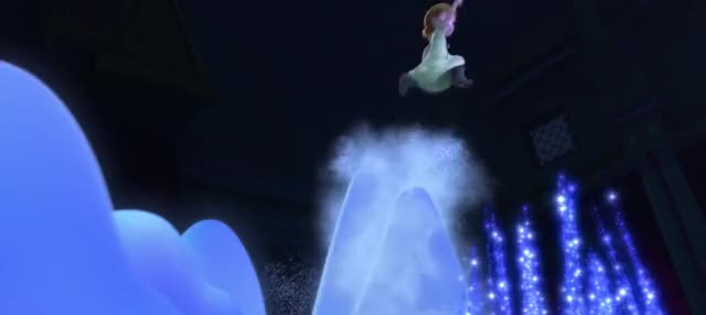 Watch and share Elsa Child Anna Ice Blast 1 GIFs by AzureBeast on Gfycat