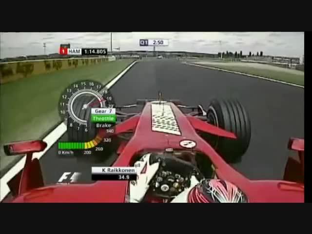 Watch f1 GIF on Gfycat. Discover more Ferrari, French grand prix, f1 helmet, f1 q1, f1 qualifying, felipe massa, formula one 2007, kimi raikkonen, santander, ultimate speed GIFs on Gfycat