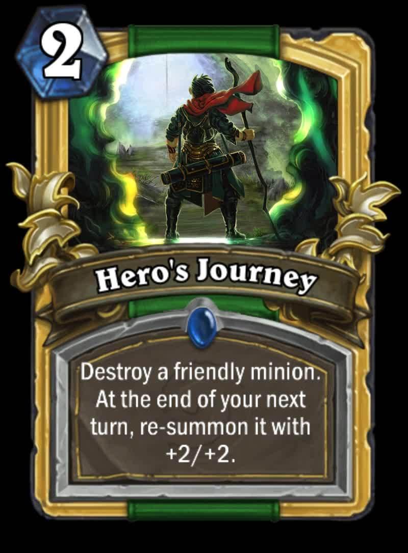 customhearthstone, hearthstone, Hero's Journey GIFs