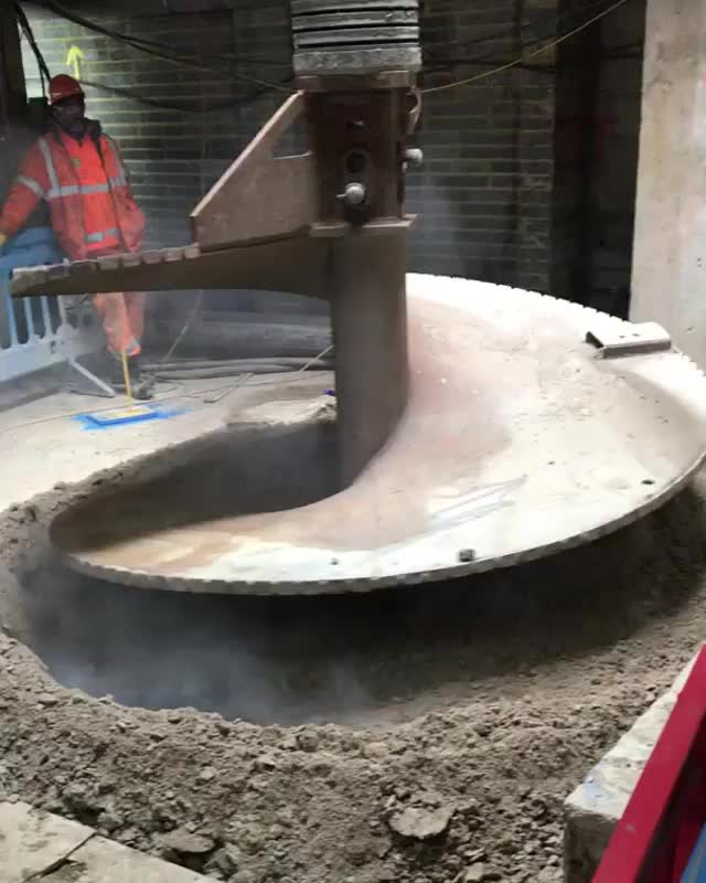 the largest auger in europe GIFs