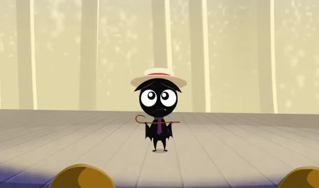 Watch Scaredy Bat GIF on Gfycat. Discover more Ruby Gloom GIFs on Gfycat