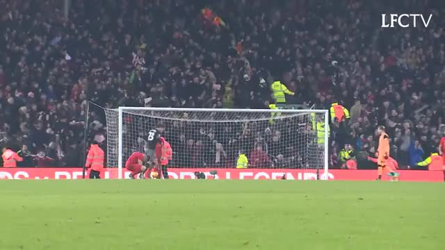 Watch Southampton fans at Anfield GIF on Gfycat. Discover more Fans, anfield, explosive, goal, lfc, liverpool, saintsfc, southampton GIFs on Gfycat