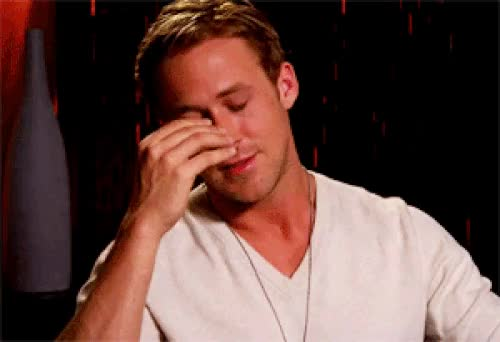 Watch and share Ryan Gosling Facepalm GIFs on Gfycat