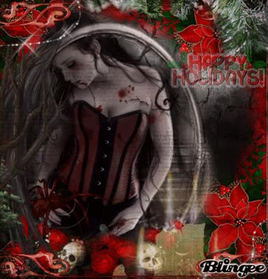Watch and share Gothic Christmas GIFs on Gfycat