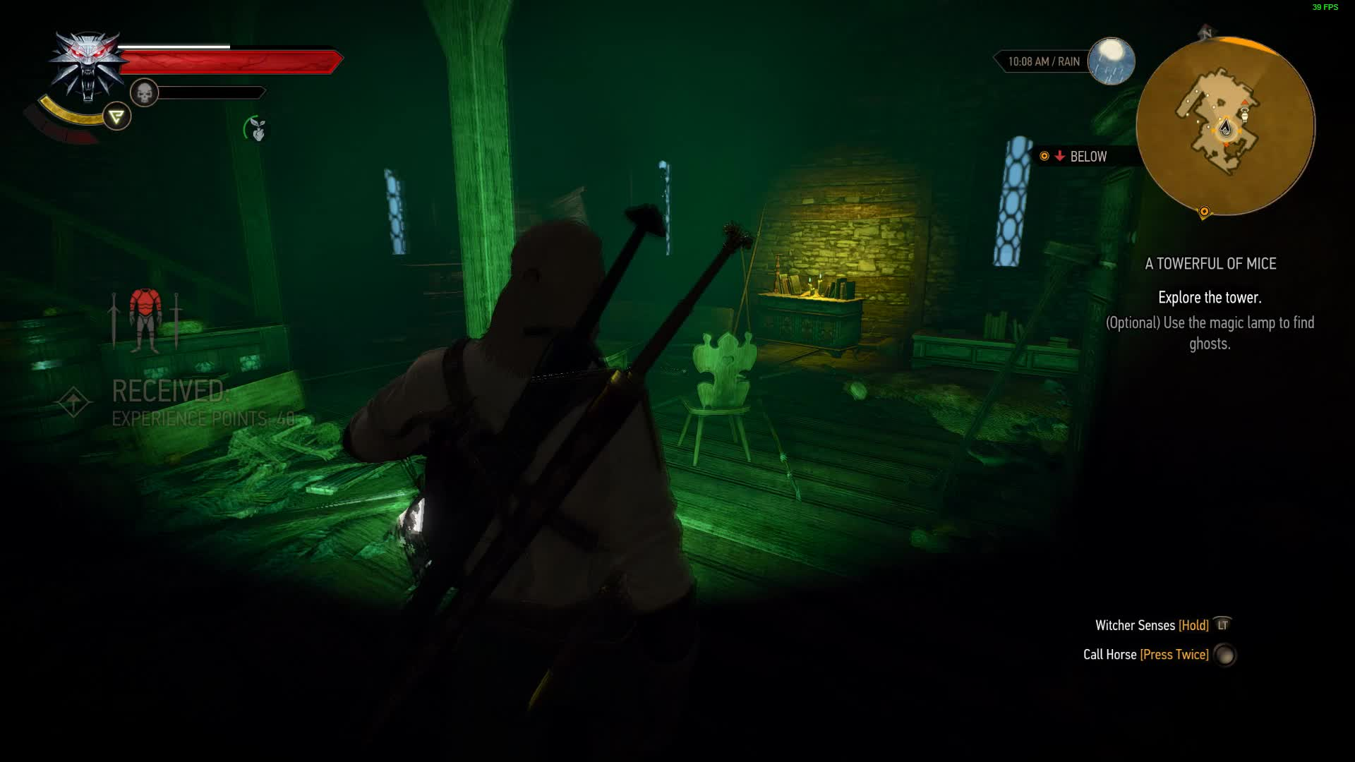 lantern, spook, tower, witcher 3, witcher 3 tower spook GIFs