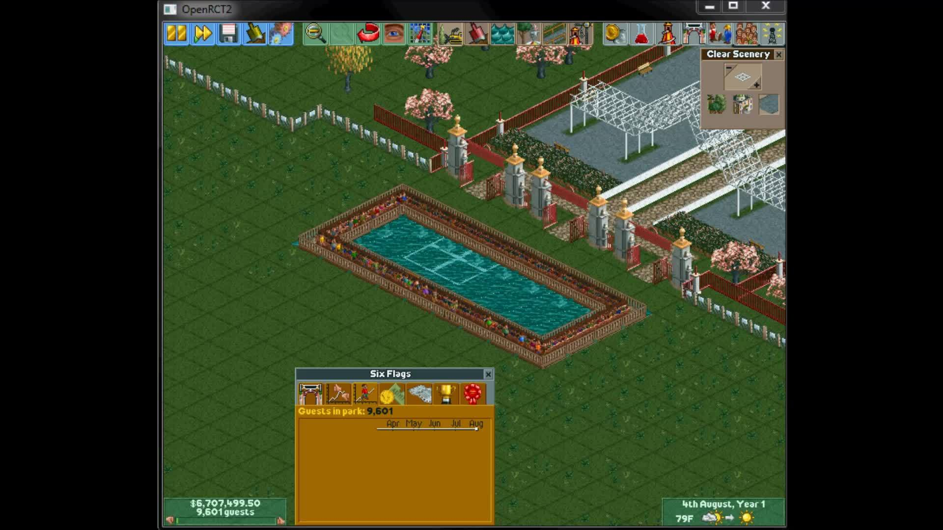 rct, rollercoastertycoon, Roller Coaster Tycoon 2 Genocide GIFs