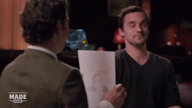 Watch and share Jake Johnson GIFs on Gfycat