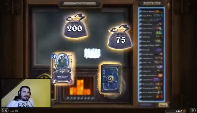 Watch and share [Hearthstone] The New King Of Arena GIFs on Gfycat