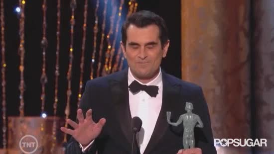 Watch Ty Burrell Pretending Forget His Acceptance Speech Advice GIF on Gfycat. Discover more ty burrell GIFs on Gfycat