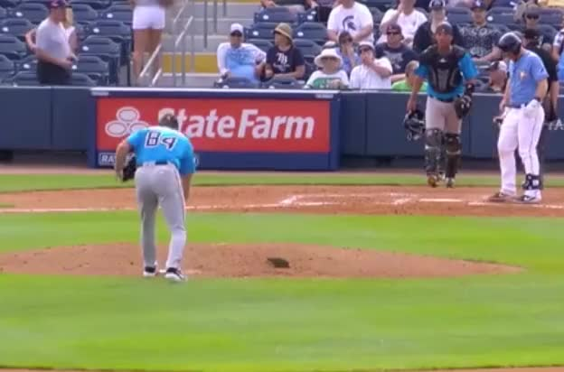 Watch marlins zac gallen mound routine spring GIF by Ely Sussman (@realely) on Gfycat. Discover more baseball, funny, highlights, marlins, mlb, mound, pitching, rays, spring training, zac gallen GIFs on Gfycat