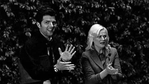 Watch this applause GIF by Reaction GIFs (@sypher0115) on Gfycat. Discover more adam scott, amy poehler, applause, ben wyatt, clap, clapping, leslie knope, round of applause, slow clap GIFs on Gfycat