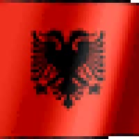 Watch and share Albanian Flag animated stickers on Gfycat