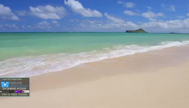Watch and share HAWAII BEACHES In 4K: Oahu   Nature Relaxation™ Dynamic 90 Min Video UHD GIFs on Gfycat