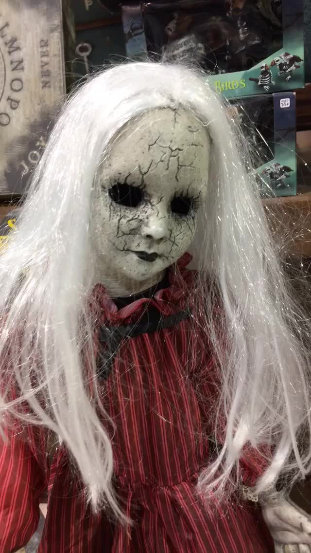 Watch creepy doll GIF by Danno (@danno) on Gfycat. Discover more related GIFs on Gfycat