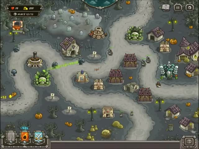Kingdom Rush Frontiers - Bonesburg - 3 Stars GIF | Find, Make