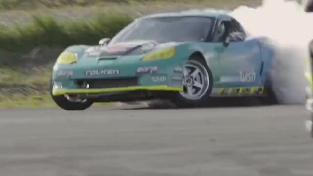 Watch and share Corvette GIFs and Drifting GIFs on Gfycat