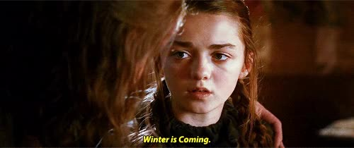 Watch this game of thrones GIF on Gfycat. Discover more game of thrones, got, hbo, maisie williams, winter is coming, winter is here GIFs on Gfycat