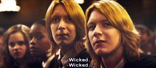 Watch and share Harry Potter Fred George Weasley GIFs on Gfycat