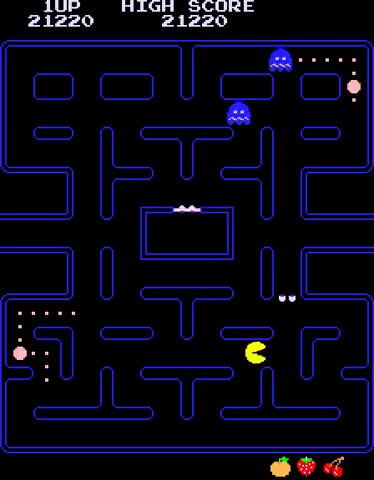 Watch and share Arcade Game: Pac-Man (1980 Namco (Midway License For US Release)) GIFs by Mark LoProto on Gfycat