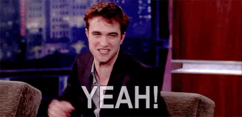Watch and share Robert Pattinson GIFs and Yeah GIFs on Gfycat