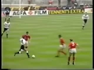 Watch and share Gazza's Downfall: 1991 F.A Cup Final GIFs on Gfycat