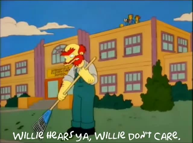 Watch and share The Simpsons GIFs and Willie GIFs by avengerkitty on Gfycat