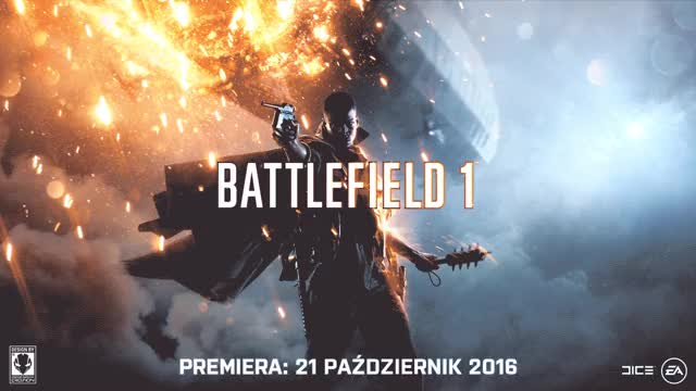 Watch and share Battlefield 1 Wallpaper Polish Date Premiere Design By Erozion (HD) GIFs by erozion on Gfycat