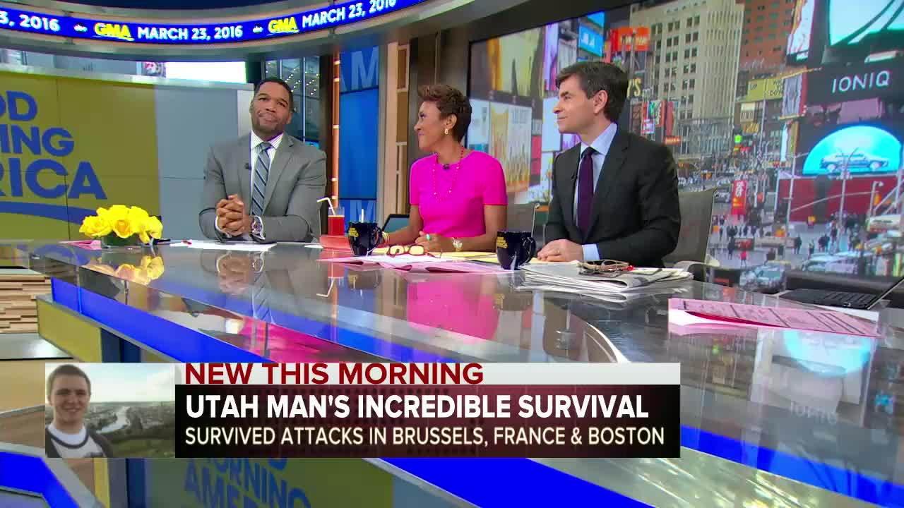 boston bombing, brussels bombing, paris shooting, Man Survives THREE Terrorist Attacks in Boston, Paris, & Brussels GIFs