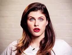 Watch this alexandra daddario GIF on Gfycat. Discover more GQ interview, alexandra daddario, look at that face, love me please, mine, ugh, wifey GIFs on Gfycat