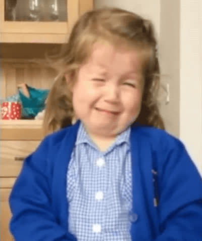 crying, little girl, sad, sobbing, tantrum, the struggle, Little Girl Reaction To Finding Out She is Having a Baby Brother GIFs
