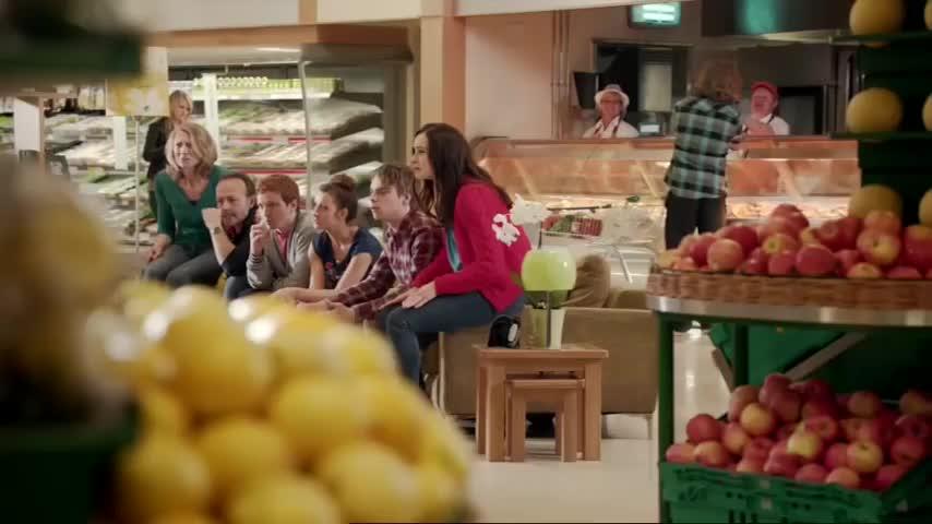 DaisyRidley, Rey, advert, daisy, daisy jazz isobel ridley, morrisons, ridley, Morrisons TV Advert (2012) - Starring Daisy Ridley GIFs
