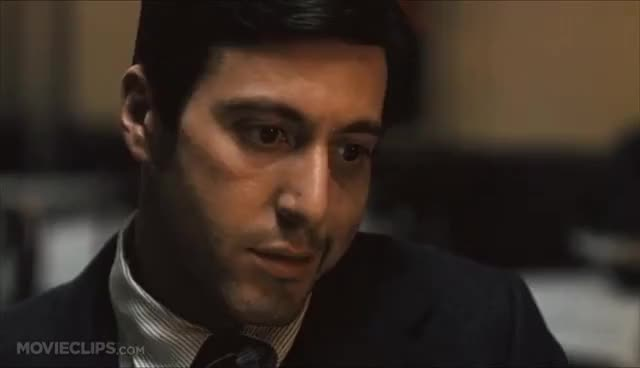 Watch and share The Godfather (3/9) Movie CLIP - Killing Sollozzo And McCluskey (1972) HD GIFs on Gfycat
