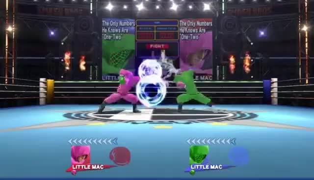 SSB - Little Mac Mac's Bizarre Fight