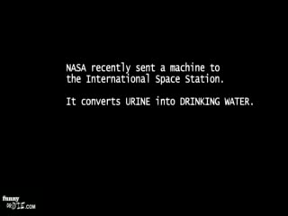 NASA urine recycler test