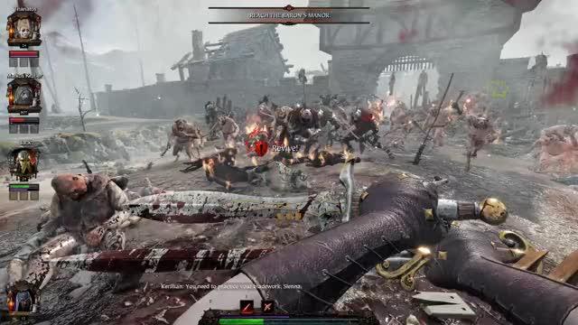 Watch and share Warhammer Vermintide 2 Spawn Bug? GIFs on Gfycat