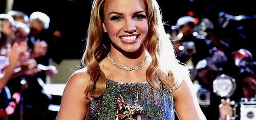 beauty queen, britney spears, celebs, glam, happy, lucky, smile, Britney Spears - Lucky GIFs