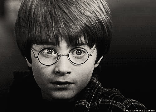 daniel radcliffe, cute, daniel radcliff, glasses, harry potter, ooh, separate with comma GIFs