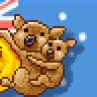 Watch and share Australia Flag Koala Bear Bears Day Happy Australian Hello Smiley Smilie Emoticon Animated Animation Animations Gif GIFs on Gfycat
